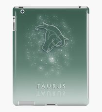 Taurus Zodiac constellation - Starry sky iPad Case/Skin