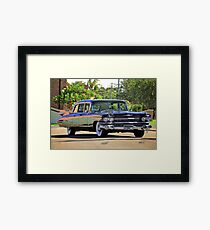 '59 Cadillac Fleetwood Limo Framed Print
