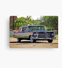 '59 Cadillac Fleetwood Limo Canvas Print