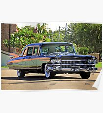 '59 Cadillac Fleetwood Limo Poster