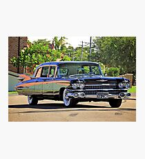 '59 Cadillac Fleetwood Limo Photographic Print