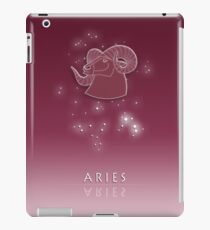 Aries Zodiac constellation - Starry sky iPad Case/Skin