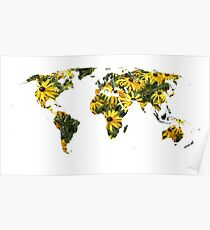 Rudbeckia World Poster