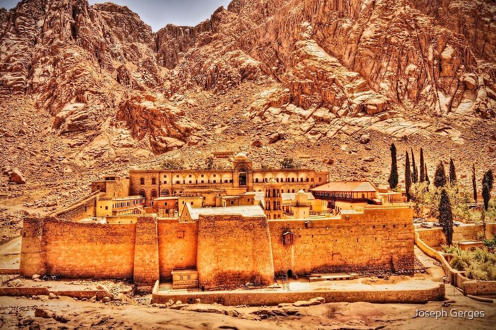 St. Catherine's Monastery, sinai #2 by Joseph Gerges