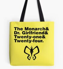 Team Monarch Tote Bag