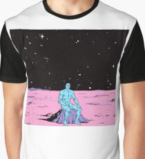 Dr. Manhattan on Mars Graphic T-Shirt