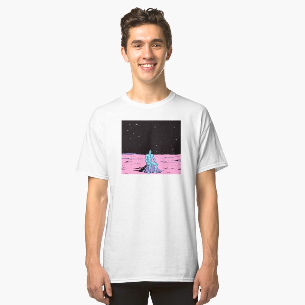 Dr. Manhattan on Mars Classic T-Shirt Front