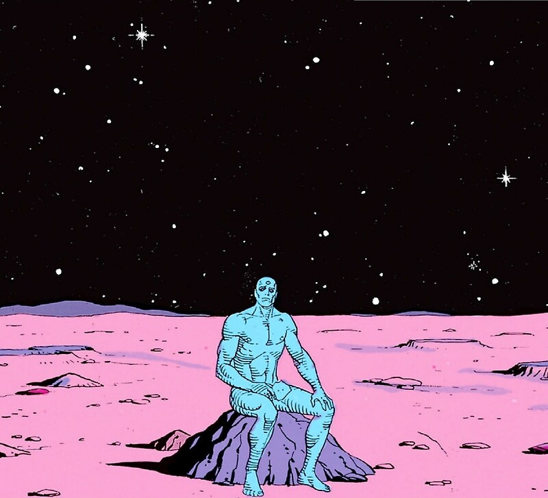 """Dr. Manhattan on Mars"" Art Prints by Spaghettiwester ..."