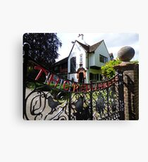 Red Gables Cottage, Rothamsted Research Canvas Print