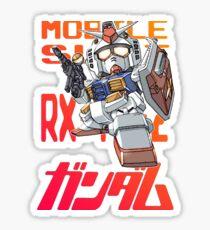 Gundam 02 Sticker