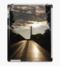 Vietnam war memorial in Washington DC iPad Case/Skin