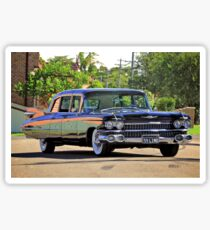 '59 Cadillac Fleetwood Limo Sticker
