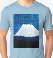 Mount Shasta original painting Unisex T-Shirt