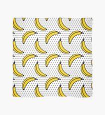 Polka Dot Banana Print Scarf