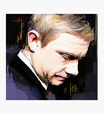 Martin Freeman Artwork Design 1 Photographic Print