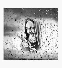 Padre Pio Photographic Print