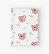 Pink Pig Hardcover Journal