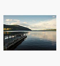 Loch Ness pier  Photographic Print