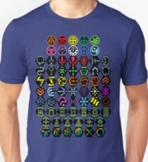 Phantasy Star Online - Icons Unisex T-Shirt
