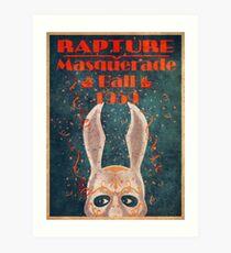 Bioshock - Masquerade ball 1959 Art Print