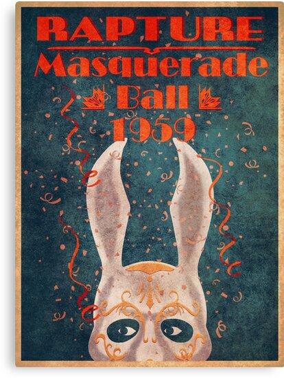 Bioshock - Masquerade ball 1959 by ILOVEBIGDADDY