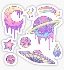 Pastel Galaxy Sticker