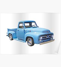 Póster Classic 1955 F100 Ford Pickup Truck
