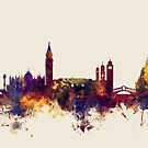 Venice Italy Skyline by Michael Tompsett