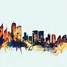 Sydney Australia Skyline by Michael Tompsett