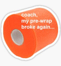Sports Pre-Wrap Sticker