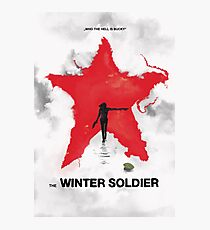 the winter soldier 2 Photographic Print