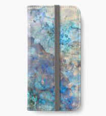 Majestätischer Marmor iPhone Flip-Case/Hülle/Skin