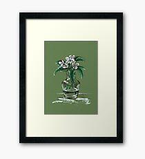 April flower Framed Print