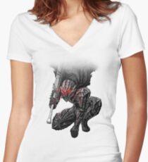 Berserker Armour Guts Women's Fitted V-Neck T-Shirt