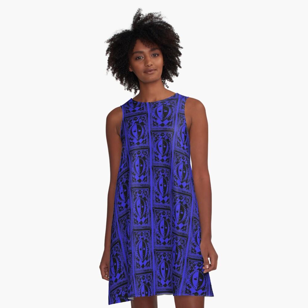 P3 Card !! A-Line Dress Front