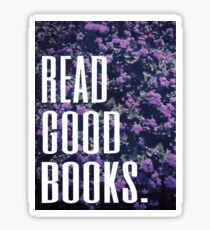 Read Good Books Sticker