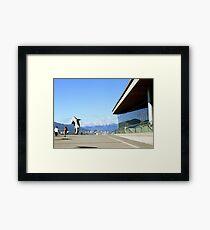 Vancouver, BC: 8-Bit Orca Framed Print