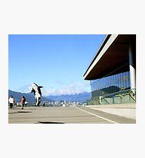 Vancouver, BC: 8-Bit Orca Photographic Print