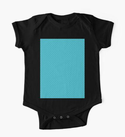 Blue Zebra Print Pattern Kids Clothes