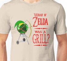 What if Zelda was a Grill? Unisex T-Shirt