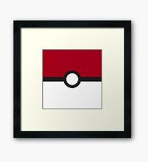 Poké Ball Framed Print
