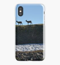 Two young elk iPhone Case