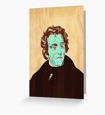 Andrew Jackson x3 Greeting Card