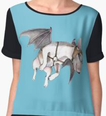 If Pigs Could Fly  Women's Chiffon Top