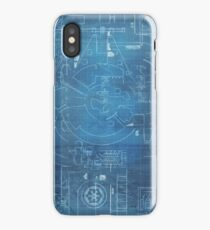 Star Wars Blueprints iPhone Case/Skin
