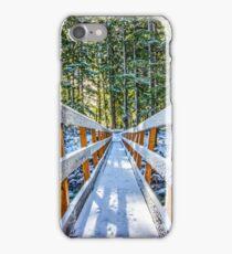 Snowy Bridge iPhone Case/Skin