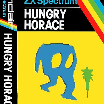 Hungry Horace Spectrum zx by garyspeer