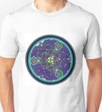 Blue celtic medallion T-Shirt