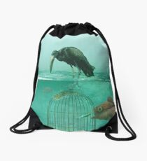 Alternate Reality  Drawstring Bag