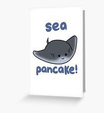 Sea pancake! Greeting Card
